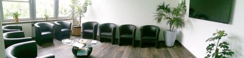Einblick in das Wartezimmer der Praxis - Facharzt Dr. Thiess Potsdam